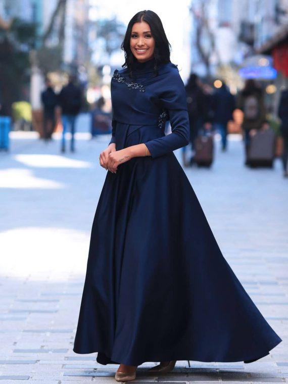 Amra Abiye Lacivert - My Dreams Collection