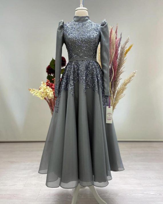 Lotus Abiye Gri – My Dreams Collection